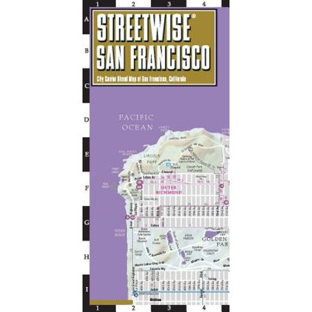 Streetwise san francisco map - laminated city center street map of san francisco, california: (San Francisco Center Stores)