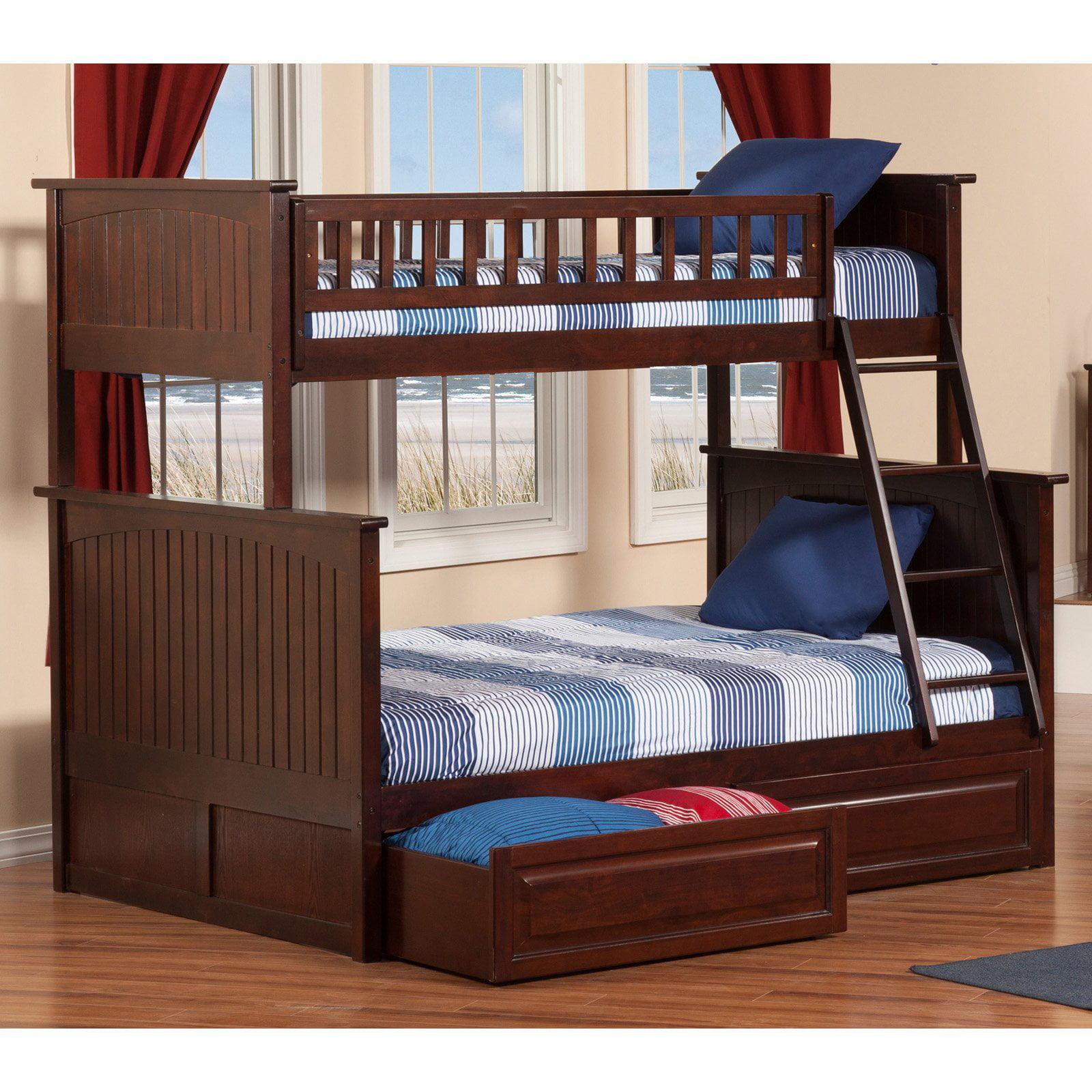 Atlantic Furniture Nantucket Twin Over Full Bunk Bed