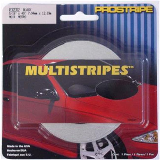 TRIMBRITE R32002 Pinstripe Tape, Black, 40 In. X 0.31 Ft.