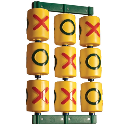 Gorilla Playsets Tic Tac Toe Spinner Panel for Residential Wooden Swing Sets