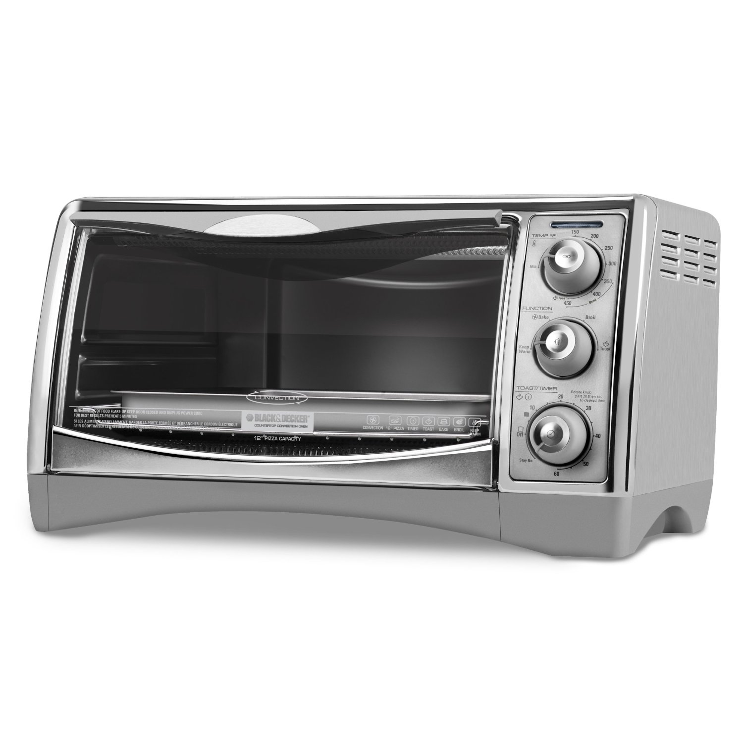 perfect broil convection toaster oven walmart com rh walmart com Electric Convection Oven Countertop Convection Oven Recipes