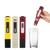 Yosoo Digital LCD Water Quality Testing Pen Purity Filter TDS Meter Tester 0-9990 PPM Temp