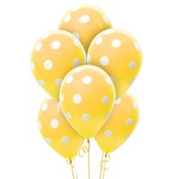 12'' Dotted Latex Balloons