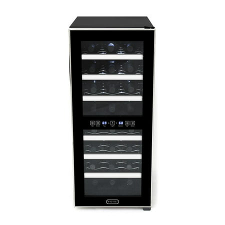 Whynter 24 Bottle Dual Zone Freestanding Wine Cooler