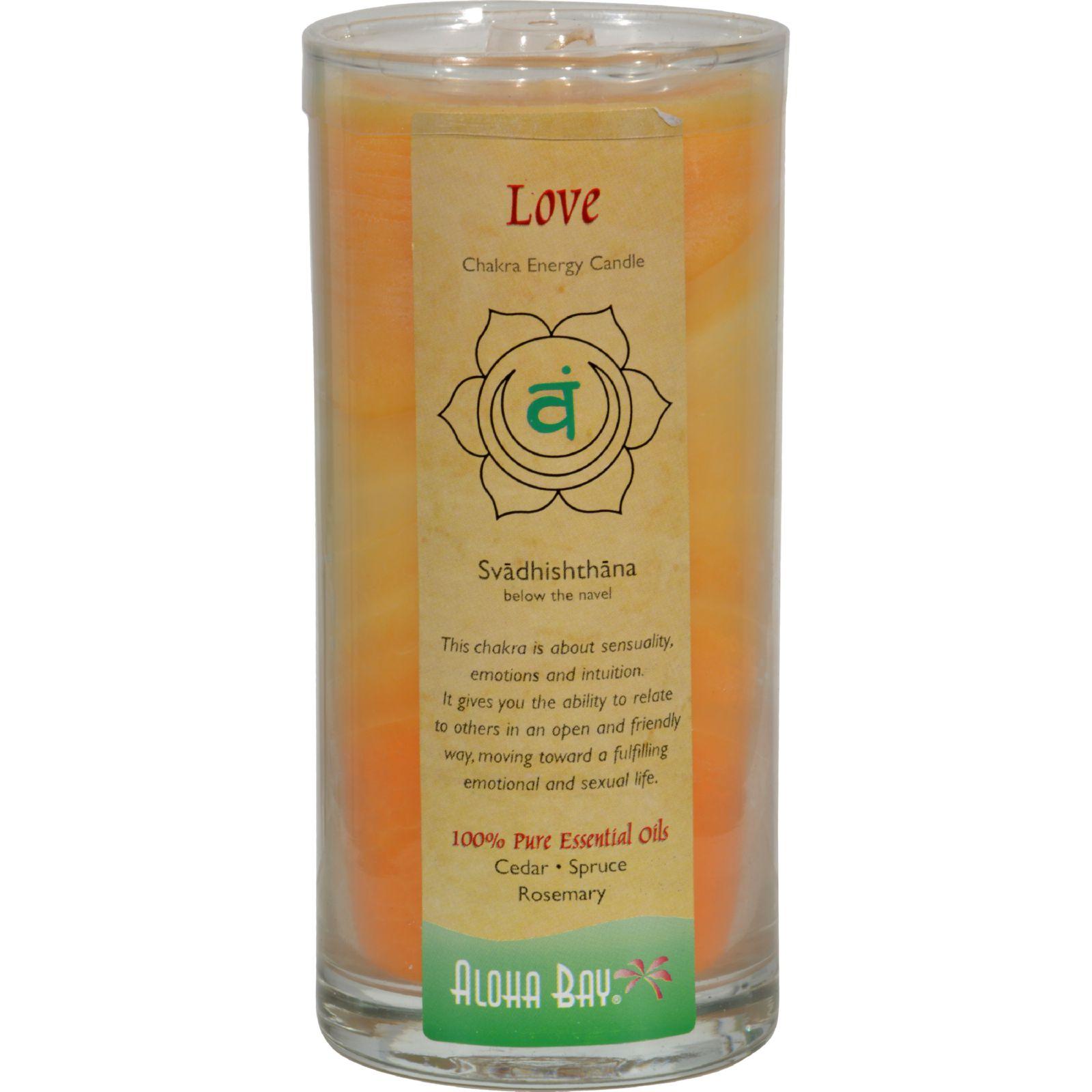 Aloha Bay - Chakra Energy Candle Jar Love - 11 oz.