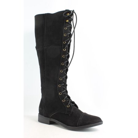 Rocket Dog Womens Menlo Coast Black Fashion Boots Size 6