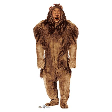 Cowardly Lion - Wizard of Oz Cardboard Cutout Life Size Party Prop Decor Birthday Party Supplies Size - 70