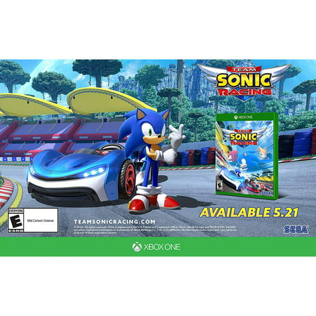 Team Sonic Racing, Sega, Xbox One, 010086640892 (Sonic Halloween Racing)