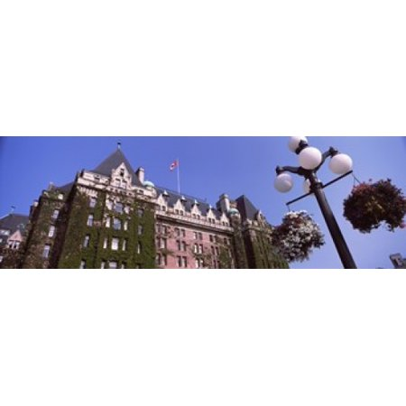 Halloween Parties Vancouver Island (Low angle view of the Empress Hotel Victoria Vancouver Island British Columbia Canada Canvas Art - Panoramic Images (18 x)