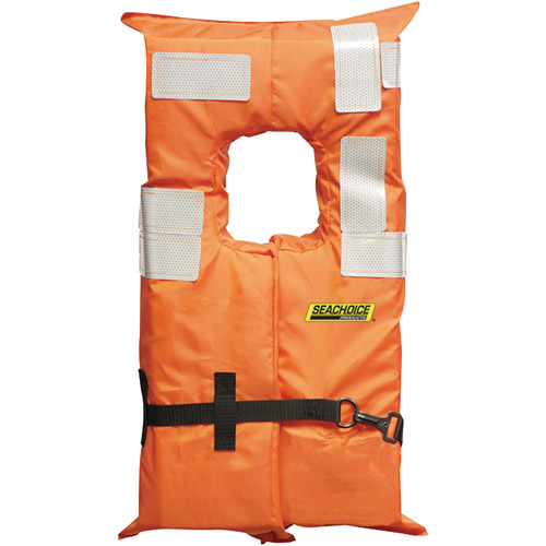 Seachoice Type I Offshore Vest with Solas Reflective Tape by Seachoice Products