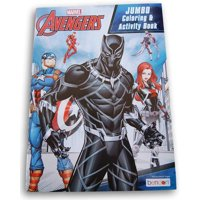 Avengers Black Panther Jumbo Coloring and Activity Book - 64 Pages