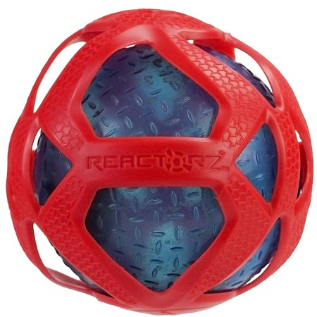 4 Red and Blue Coop Reactorz Gripz Light-Up Ball Swimming Pool Toy