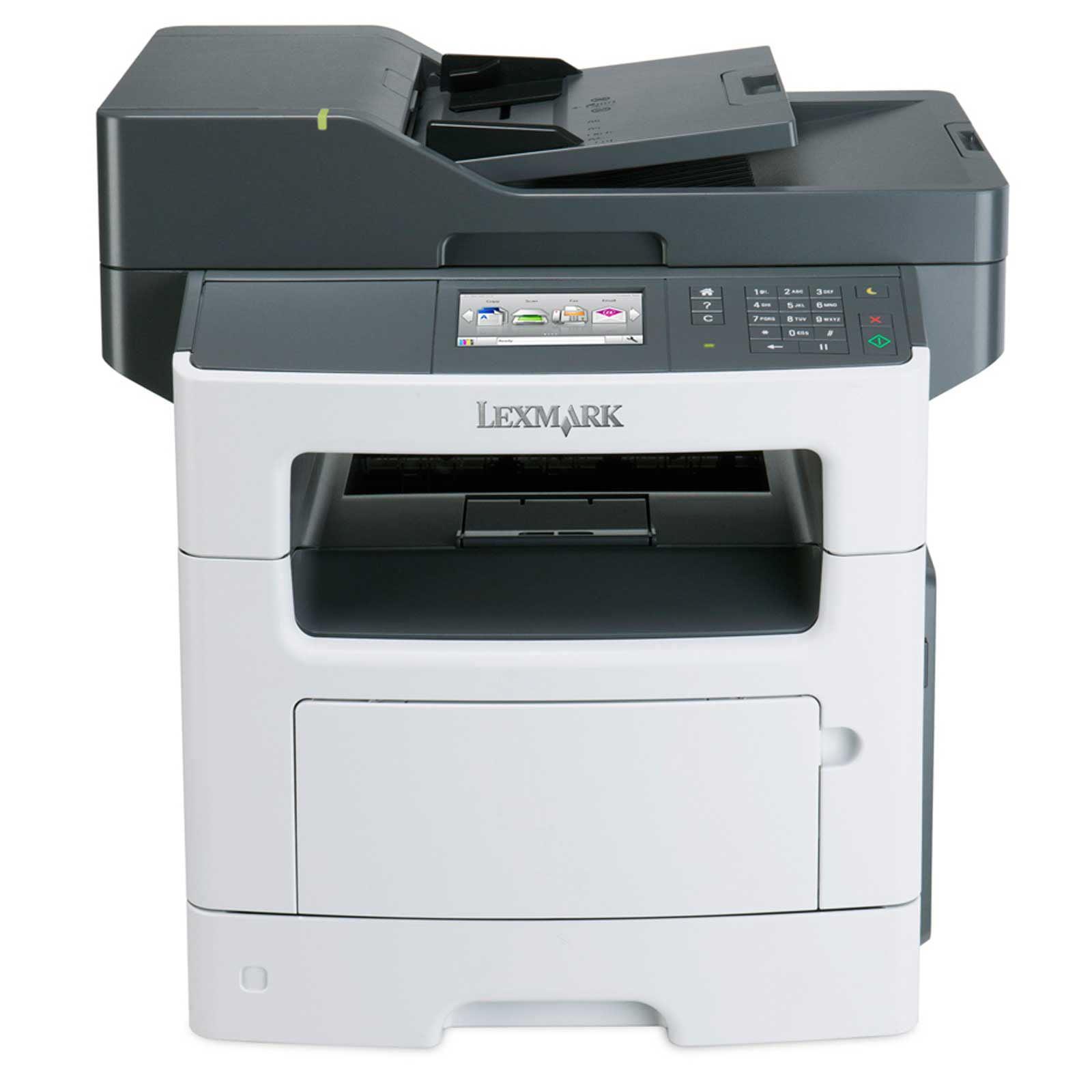 Lexmark MX511DHE All-In-One Fax, Copier, Scanner Black & White Laser Printer (Factory