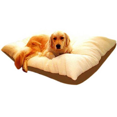 Majestic Pet Solid Color Rectangular Pillow Dog Bed
