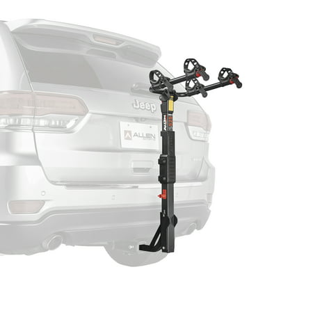 7c22ce6246d Allen Sports Premier 2-Bicycle Hitch Mounted Bike Rack Carrier, S-525 -  Walmart.com
