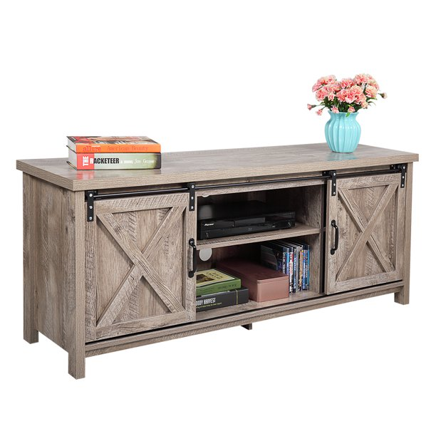 Tbest Tv Cabinet Console Table Pb, Cable Box Storage Cabinet