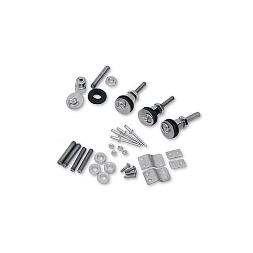 Saddlemen S4 Quick-Disconnect Saddlebag Docking Post Kit Fits 96-09 Kawasaki Vulcan 500 EN500A