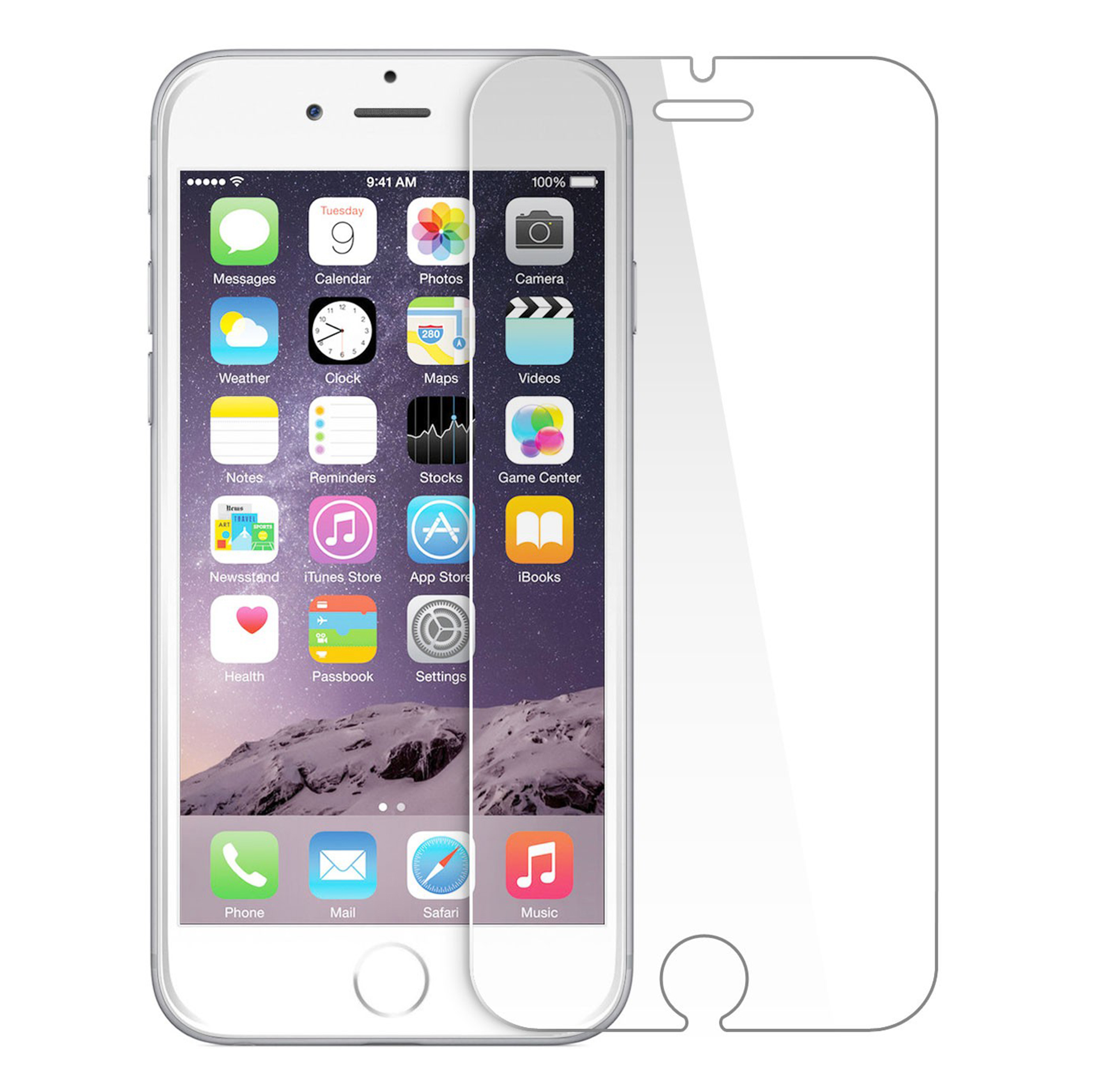 Arc® IPhone 7 Plus Tempered Glass Screen Protector
