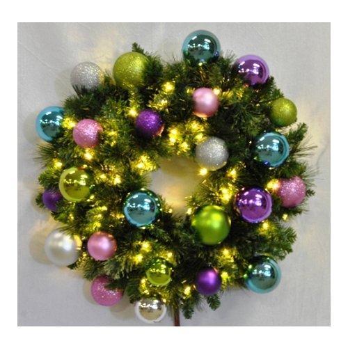 Christmas at Winterland  WL-GWBM-06-VIC-LWW  Wreaths  Natural Holiday Wreaths  Holiday Decor  Natural  ;Warm White