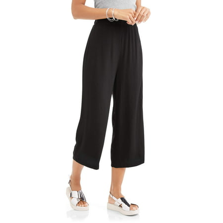 - Women's Cropped Wide Leg Pant