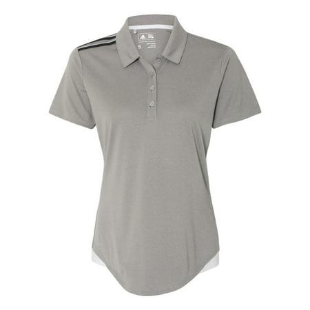 4c76bb18ecf Adidas Women's Climacool 3-Stripes Shoulder Sport Shirt - Walmart.com