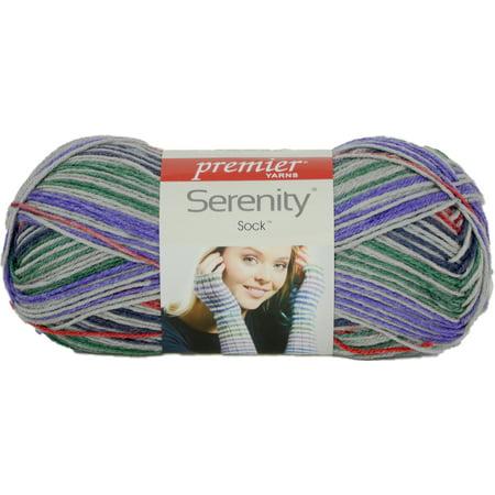 Lornas Laces Shepherd Sock Yarn (Serenity Sock Yarn-Pop Of Color)