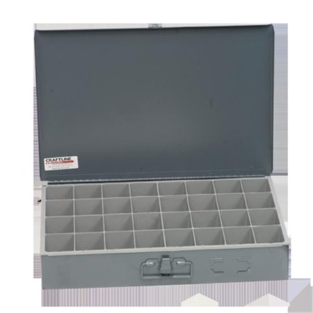 Craftline PL-32 Thirty Two Compartment Box - Gray - image 1 of 1