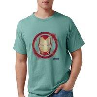 CafePress - Iron Man Head - Mens Comfort Colors Shirt