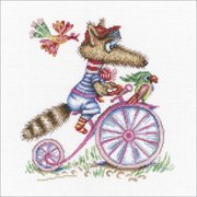 "Round The World Trip Counted Cross Stitch Kit-8.75""X9.5"" 14 Count"