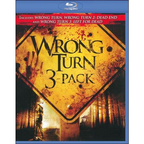 Wrong Turn (Blu-ray) (3-Pack) (Widescreen)