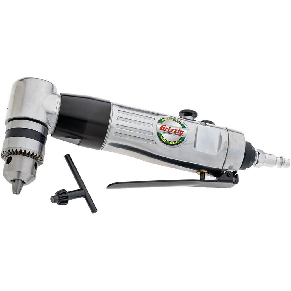 "Grizzly H8217 3/8"" Reversible Angle Drill"