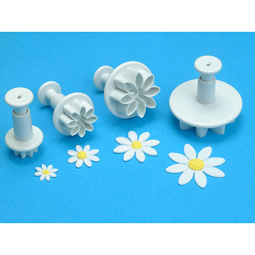 Plunger Cutter Set 4 Pieces-Daisy Marguerite