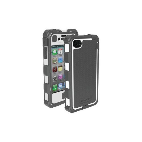 Ballistic BALLISTIC HA0778-M185 iPhone 4 4S Hard Core Series Case (Gray White...
