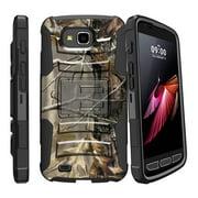 Case for X Calibur   Case for LG X Venture  [ Clip Armor ] Heavy Duty Case with Belt Clip & Kickstand Camo Collection