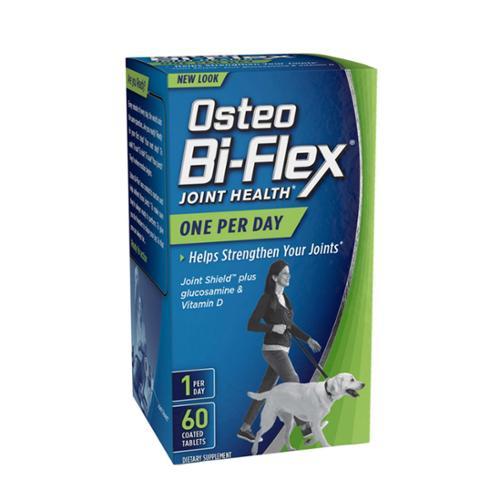 Osteo Bi-Flex Glucosamine HCl & Vitamin D3 Advanced, Coated Tablets 60 ea (Pack of 3)