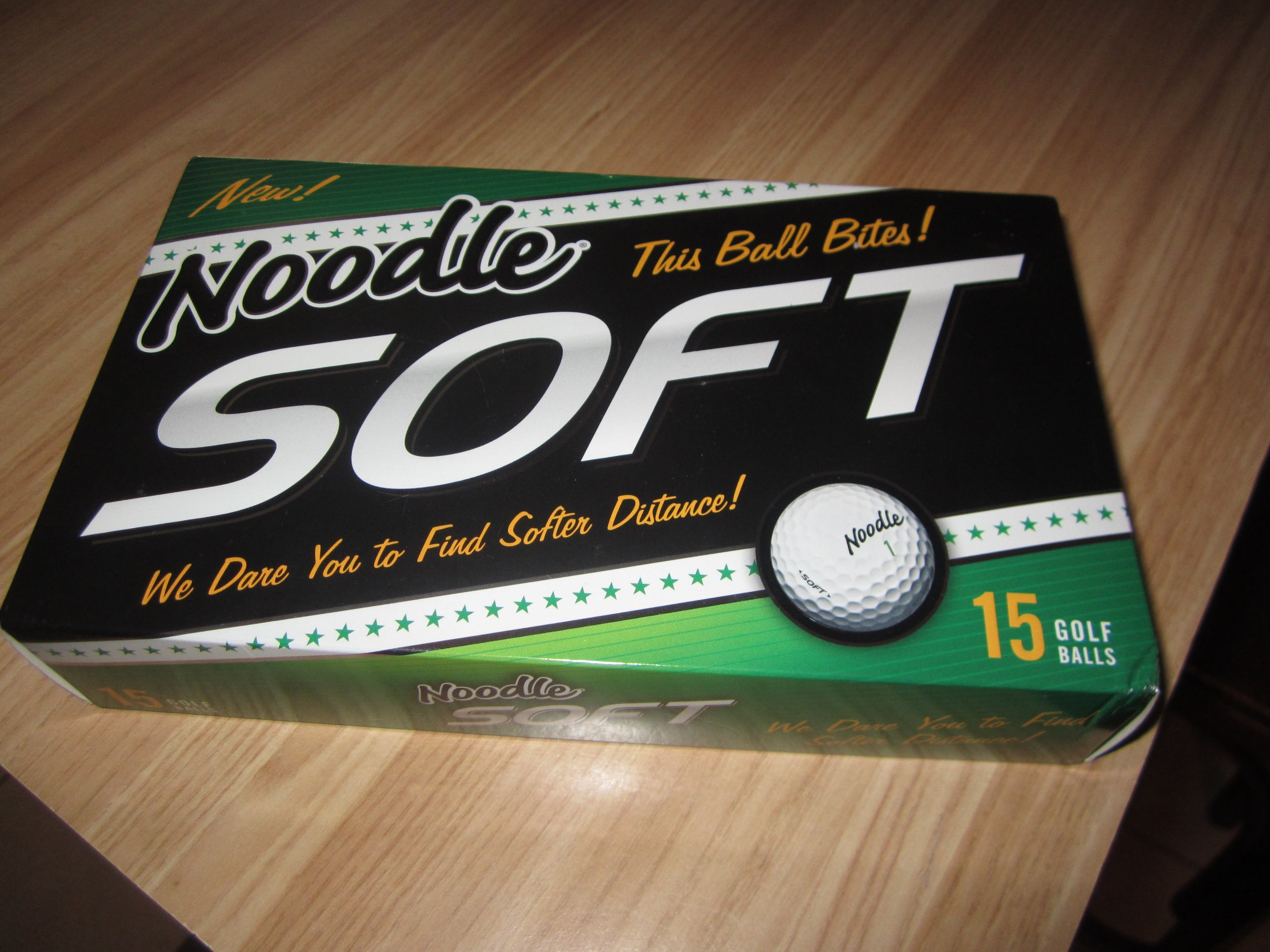 Noodle Soft Golf Balls by Generic