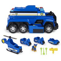 PAW Patrol, Chases 5-in-1 Ultimate Cruiser with Lights and Sounds, for Kids Aged 3 and up
