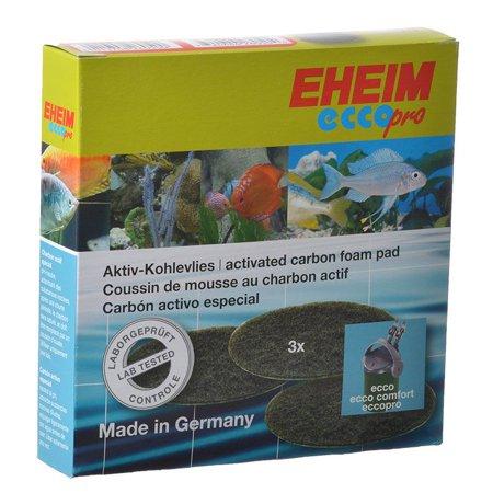 - Eheim Ecco Pro Activated Carbon Foam Pad 3 Pack