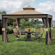 Garden Winds Replacement Canopy Top for Living Home 10 x 12 Gazebo - Riplock 350