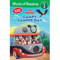 World of Reading: Mickey Mouse Mixed-Up Adventures Campy Camper Day (Level 1 Reader)