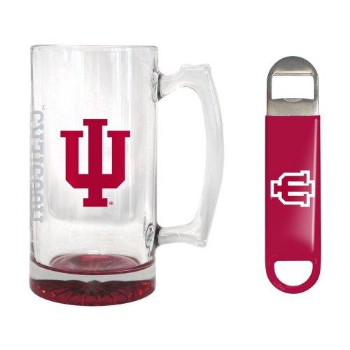 Indiana Hoosiers 25 oz. Beer Mug Gift Set by