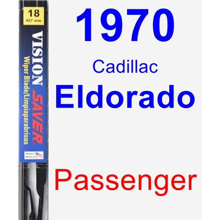 1970 Cadillac Eldorado Passenger Wiper Blade - Vision Saver