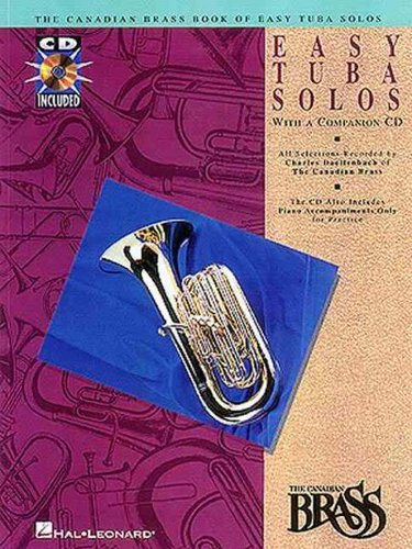 CANADIAN BRASS BOOK OF EASY TUBA SOLOS by