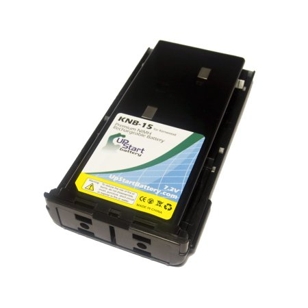 Kenwood TK-272G Battery and Charger - Replacement for Kenwood KNB-14, KNB-15 Two-Way Radio Batteries and Chargers (1300mAh, 7.2V, NI-MH) - image 1 of 4