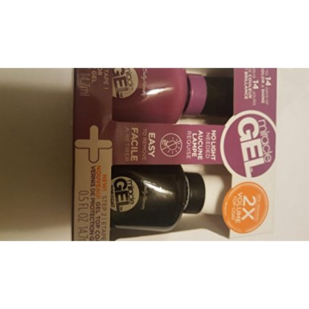Sally Hansen Miracle Gel Nail Color up the Ante