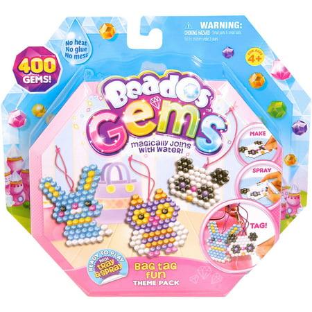 Moose Toys Beados Season 3 Gem Theme Pack, Bag Tag Buddies