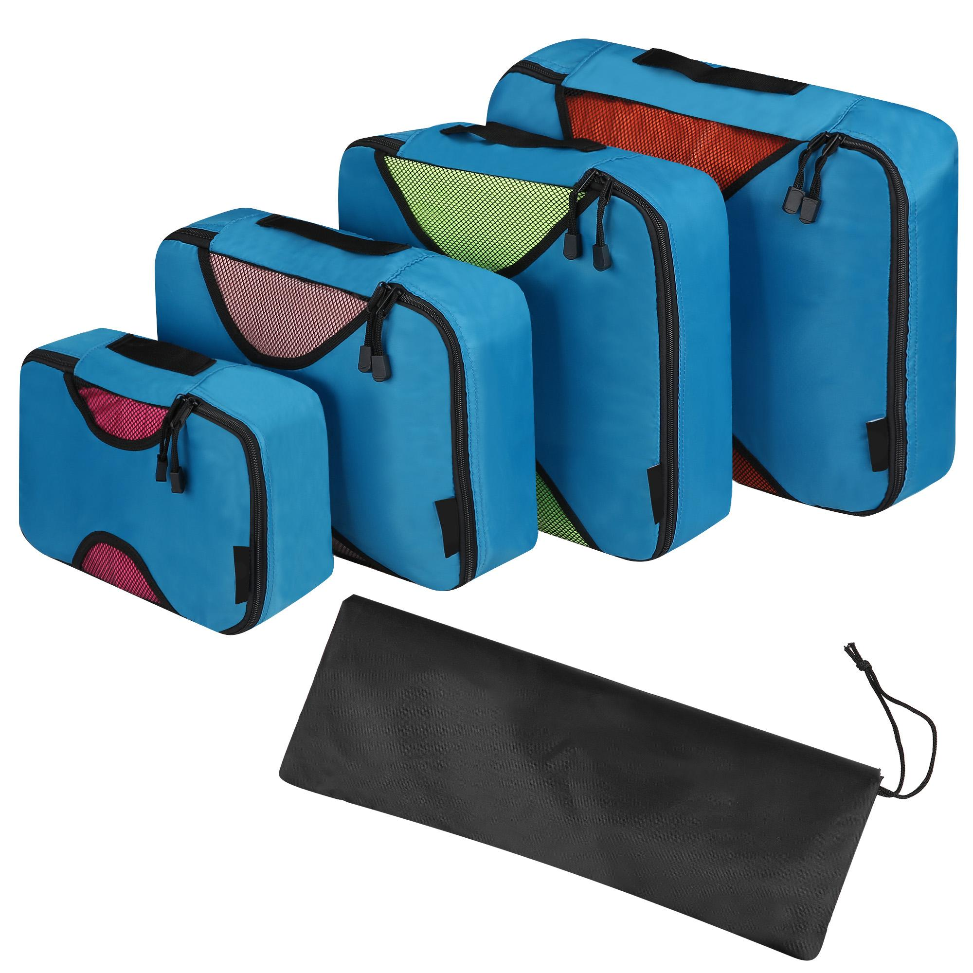 Travel Packing Bag Cubes Set of 4 Pieces Organizer Bag Case For Shoes Cloths Cosmetics PAGACAT