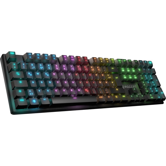 ROCCAT Suora FX RGB Backlit Frameless Mechanical Gaming Keyboard (Brown Switch)