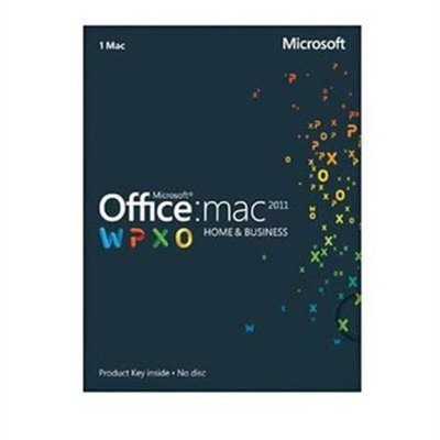 Office Mac Home & Business 2011 Key Card (1PC/1User) Promo Code