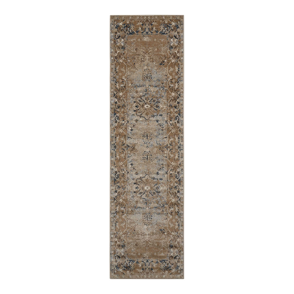 Kathy Ireland Malta Taupe Area Rug by Nourison by Nourison Rug